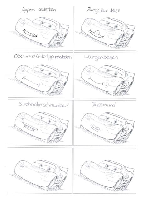 Mundmotorikkarten MacQueen