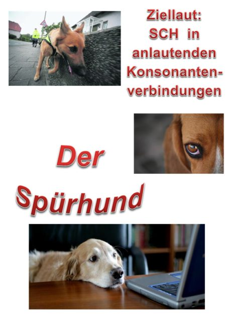 Spiel: Spürhund /sch/ in Konsonantenverbindung