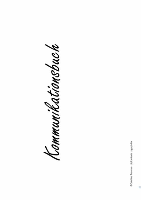 Kommunikationsbuch