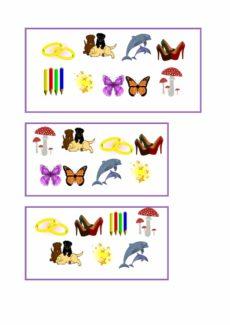 Gruselino-Kartensatz für Plural auf -e