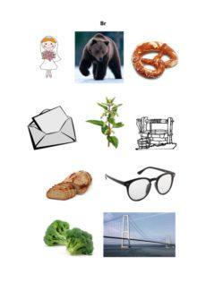 Bilder zu Konsonantenverbindung br