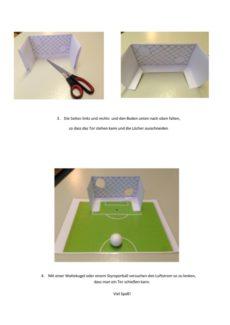 Fußballspiel – Luftstrom lenken
