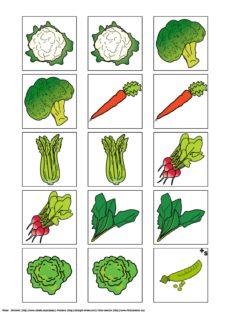 Gemüse-Memory
