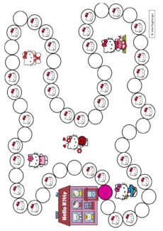 Spielplan Hello Kitty
