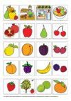 BIldkarten Wortschatz Obst
